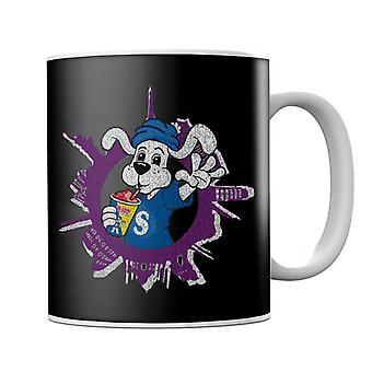 Slush Puppie Distressed World Background Mug