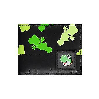 Super Mario Yoshi kaikkialla tulostaa kaksitaittoisen lompakon