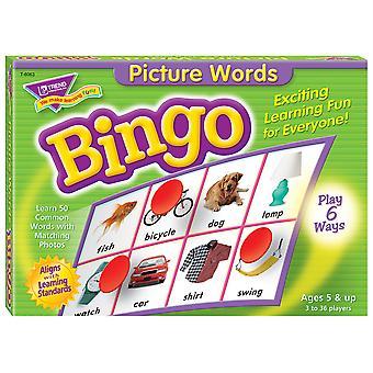 Picture Words Bingo Gioco