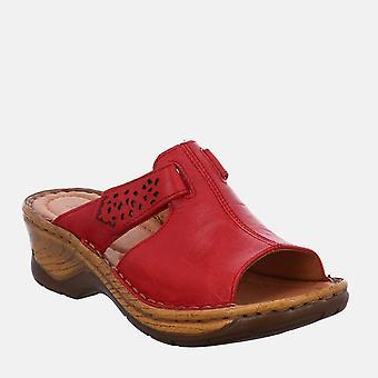 Katalonia 32 mätä - josef seibel punainen naisten sandaali muuli