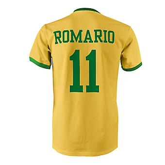 روماريو 11 البرازيل بلد المسابقة تي شيرت