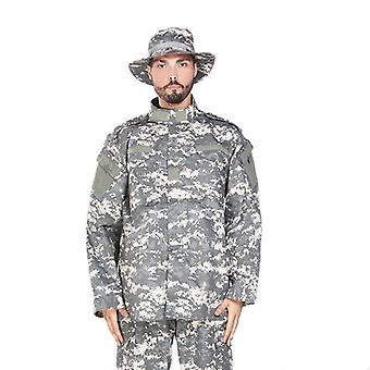 Multicam Camouflage Adult Male Security Military Uniform And Tactical Combat
