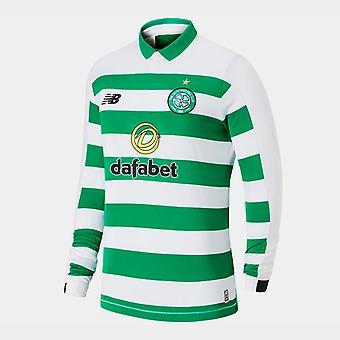 New Balance Celtic 19/20 Home L/S Football Shirt