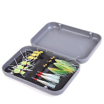 LEO 12 Stk Fiskeri Lokke Imitation Insekt Fiskekrog Udendørs Portable Fishing Tool