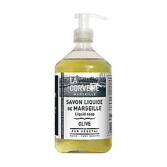 Liquid Marseille Olive Soap 500 ml