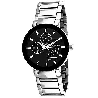 Bulova Men's Futuro Black Dial Watch - 96C105