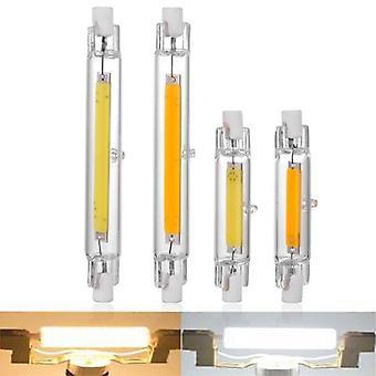 Led R7s Glass Tube, Cob Bulb, Corn Lamp, Replace Halogen Light