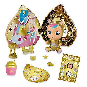 Baby doll with accessories imc toys crying golden (11 cm)