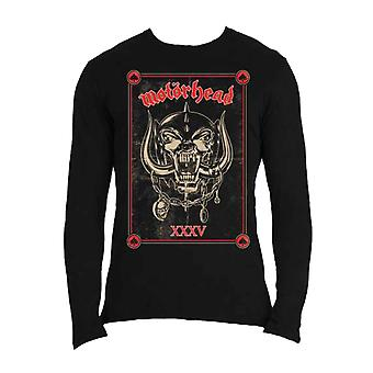 Motorhead T Shirt Propaganda Anniversary new Official Mens Black Long Sleeve