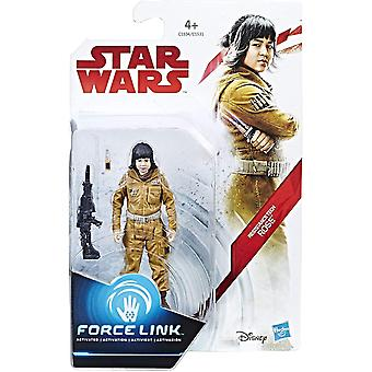 Star wars force link motstånd tech rose action figur