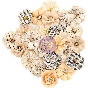 Prima Marketing Pretty Pale Flowers Flash Beauty