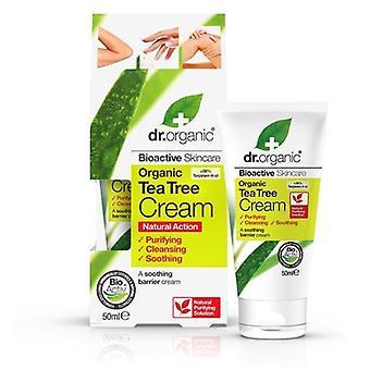 Dr. Organic Antiseptische Creme mit Teebaum