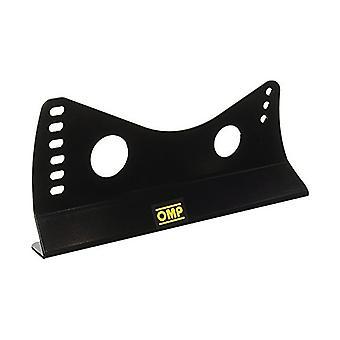 Kilpaistuimen sivutuki OMP HC/731E Black Steel (3 mm) (380 mm) (2 kpl)