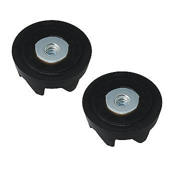 2 x plast blender stasjon kobling 9704230 erstatte WP9704230VP WP9704230