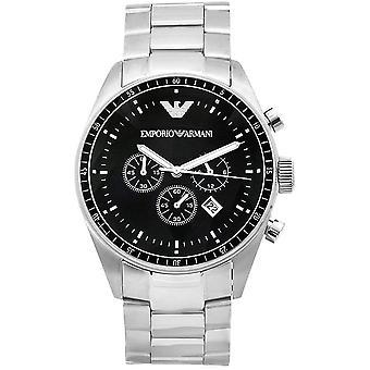 Armani Classic Stainless Steel Mens Chronograph Horloge Ar0585