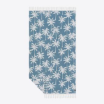 Slowtide Loreto Dusty Niebieski turecki ręcznik