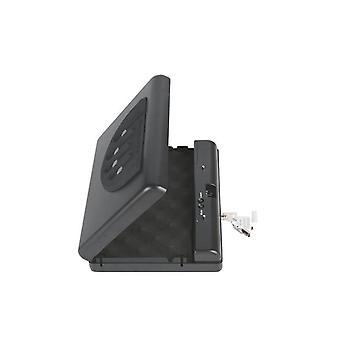 Gunsafe Gunbox Přenosná pistole Auto Bezpečná Zbraň Box Ammo Kovové pouzdro