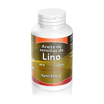 Flax Seed Oil 60 capsules of 1000mg