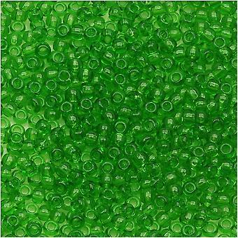 Toho Round Seed Beads 11/0 #7 'Peridot Transparente' 8g