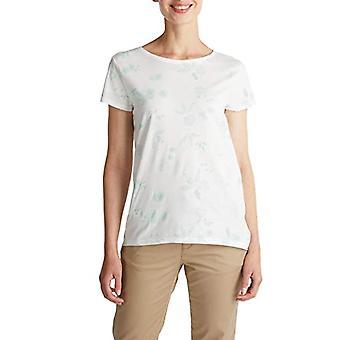 ESPRIT 040ee1k397 T-Shirt, 110 / uit Wit, XS Dames