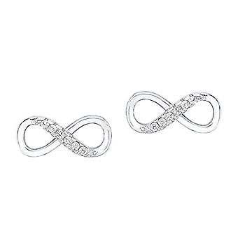 Amor Donna 925 Vit Silver ZirkoniumOxid FINEEARRING(2)