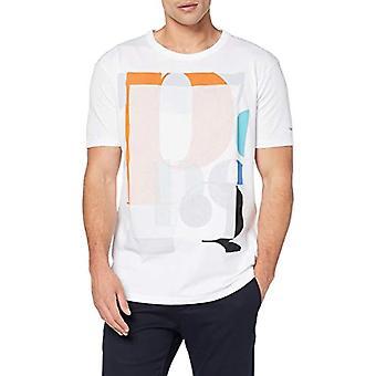 Pepe Jeans Hamerton T-shirt, White (Optic White 802), X-Small Men