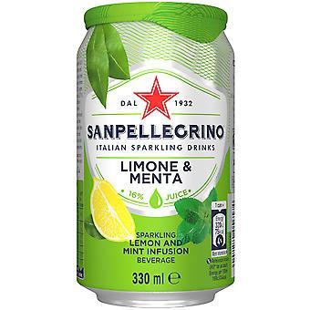 San Pellegrino Lemon & Mint Sparkling Drink