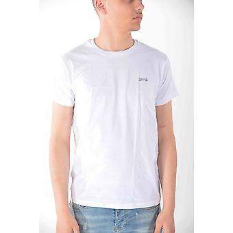 T-shirt korta ärmar White Schott män