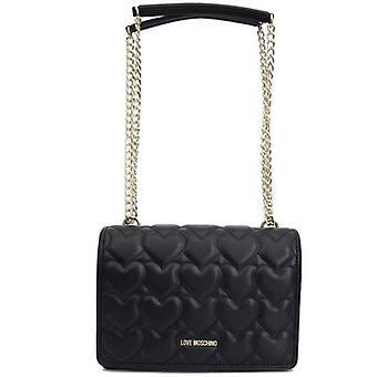 Love Moschino Heart Quilt Shoulder Bag