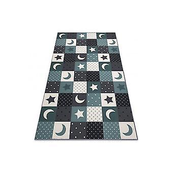 Teppich für Kinder STARS Kinder's türkis / grau