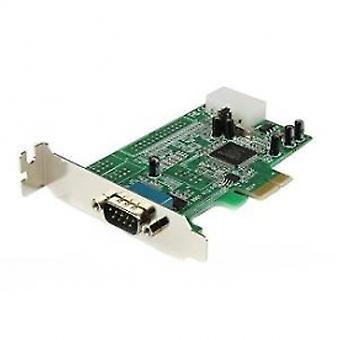 1 portti matalan profiilin alkuperäinen RS232 PCI Express -sarjakortti, jossa on 16550 UART