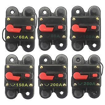 Auto Audio Sicherung Halter mit Schalter Stromversorgung Protector Circuit Breaker