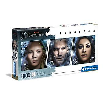 Puzzle The Witcher Clementoni Panorama (1000 pcs)