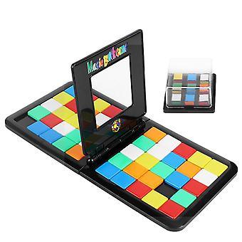 Parent Interactive Colorful Battle Sport Game Puzzle Cube 3D Puzzle Race Cube Kids Adults Desktop