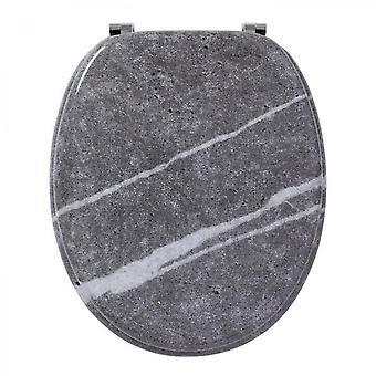 Ligne tendance marbre effet siège de toilette