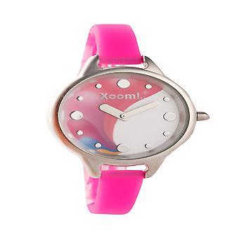 Xoom 92510222 Wristwatch Women, Waterproof, Stainless Steel ,  Silicon Strap, Durable