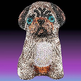 Sequin Art 3D Sequin Pug Dog