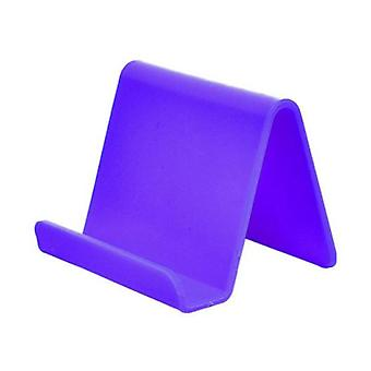 Cetechia Universal Phone Holder Candy Desk Stand - Video Calling Smartphone Holder Desk Stand Purple