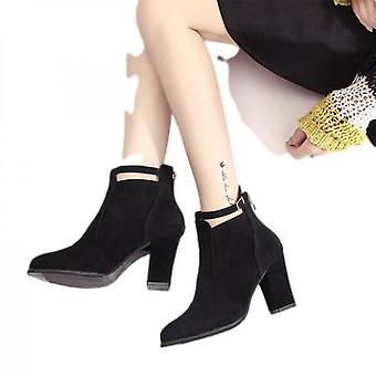 High Heels Go With Martens Boots With Thick Heels For Women