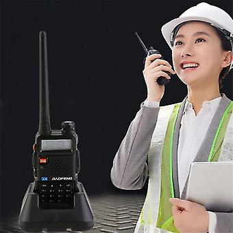 Baofeng Bf-f8+ 128 Memory Channels Dual Band Hand-held Transceiver Talkie