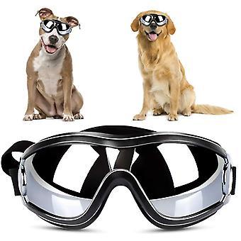 Hund beskyttelsesbriller Vandtæt Vindtæt Hund Solbriller Solcreme Anti-UV