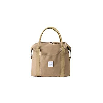 Travel Boarding Bags Can Be Handheld With Large Capacity And Fashionable Bags - Beige White