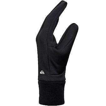 Quiksilver Unisex Adults Hottawa Lightweight Warm Winter Gloves - Black