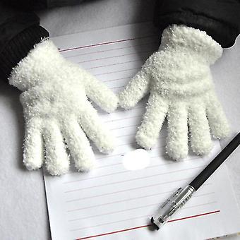 Baby Winter Coral Fleece Gloves Warm Thicken Mittens
