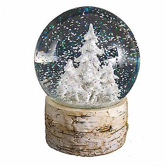 Heaven Sends Deer & Tree Water Globe