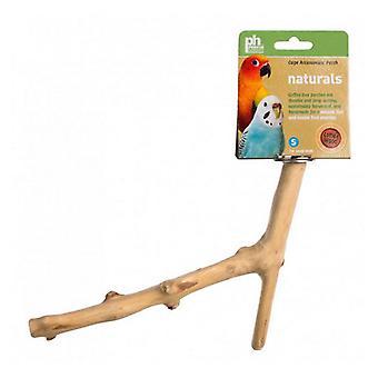 "Prevue Naturals Y-Branch Perch - Coffea Wood - 9""L x 1/2""-1""D - (Small Birds)"