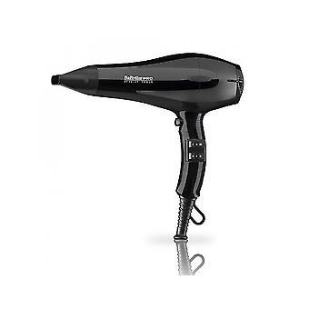 BaByliss Pro BAB669BU Black Magic Continuous Salon Utiliser Compact Hair Dryer 2000W