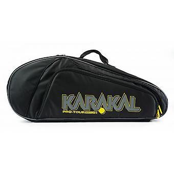 Karakal Pro Tour Match 4 Racket Bag Sports Equipment Sac à dos Carry System