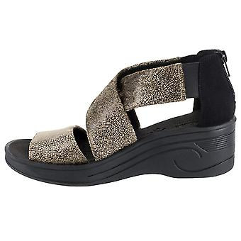 Easy Street kvinner sublime fabric rund tå casual plattform sandaler