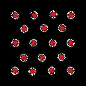 Piments rouges unisexe bandana: astérisque